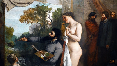 Courbet,_The_Studio,_detail_with_model