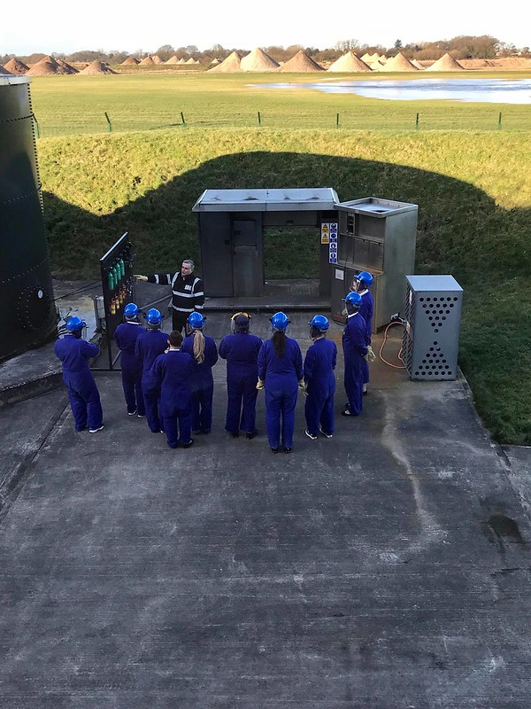 Students take part in 'Smoke-filled Cabin Training'