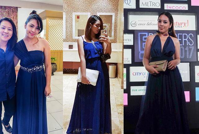 12 - Blue gown wear