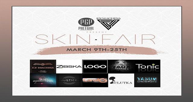 Skin Fair 2018 - Soon!