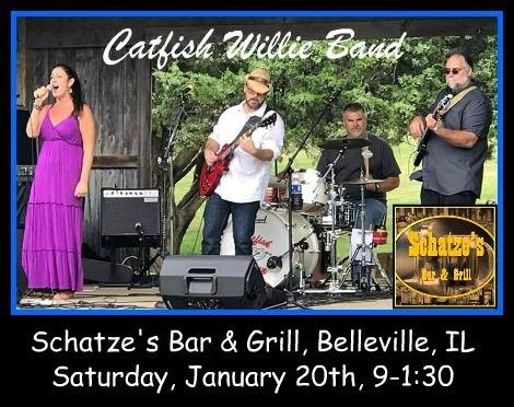 Catfish Willie Band  1-20-18