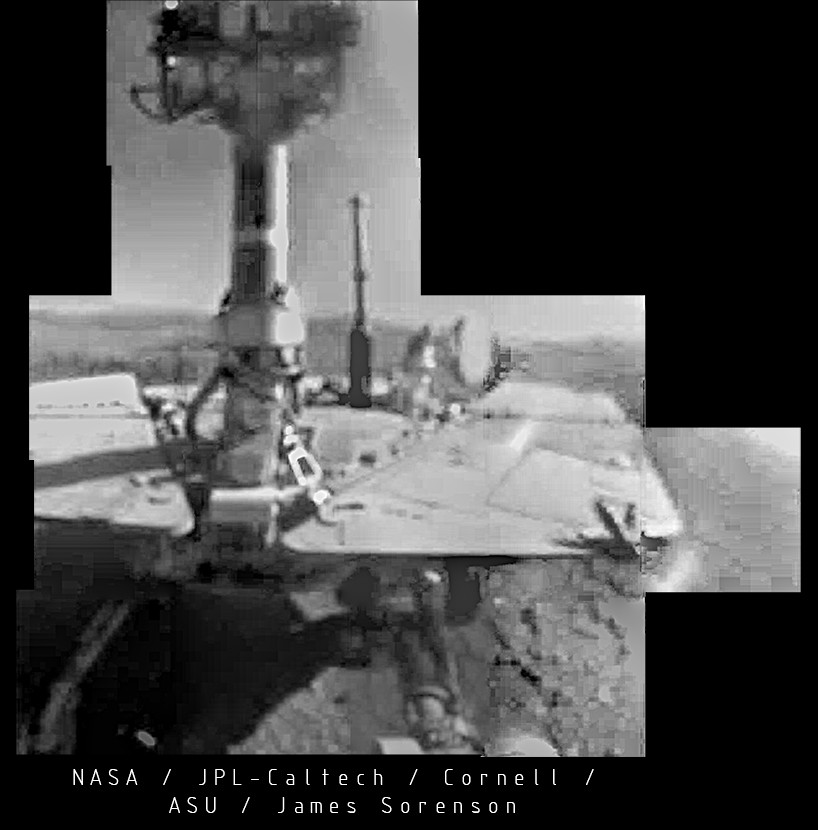 The Rover Opportunity has made a