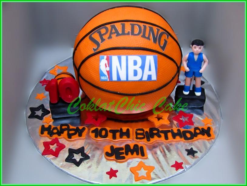 Cake Bola Basket JEMI 15 cm