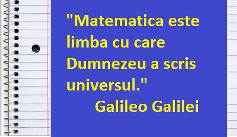 Matematica, Galilei