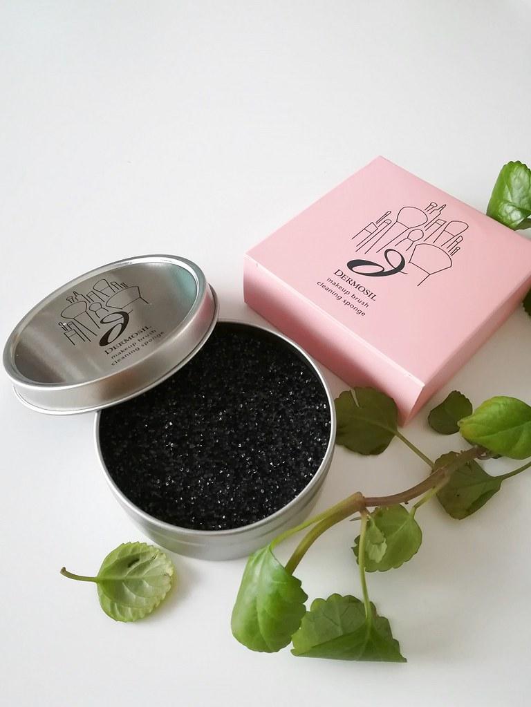 Dermosil Makeup Brush Cleansing Sponge