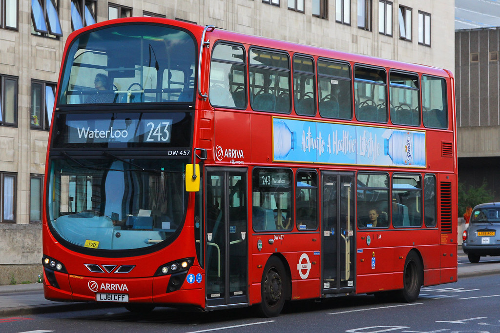 LJ61 CFF, Waterloo Bridge, August 8th 2016