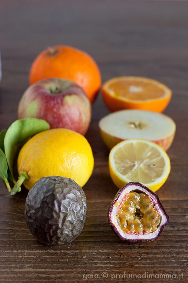 Crostata arancia