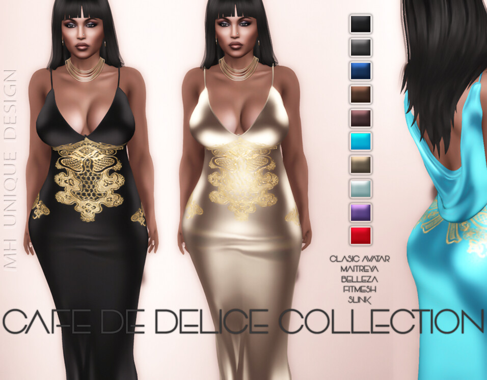 MH-Cafe De Delice Dress Collection - TeleportHub.com Live!