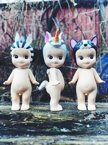 unicorn and friends, january 2018