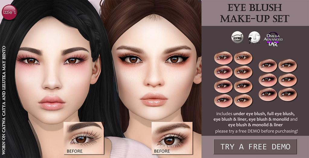 Eye Blush Make-Up Set (soon @ Blush) - TeleportHub.com Live!