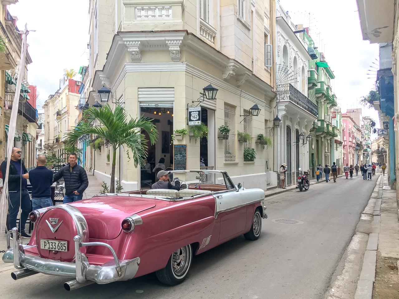 Havanna, Kuuba, autot
