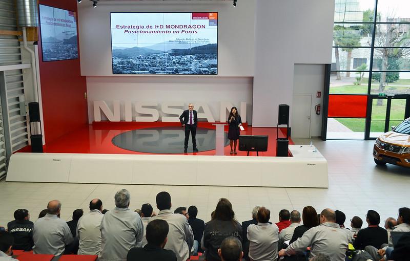 Visita a Nissan Barcelona
