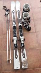 Dámský Dámské lyže, boty a hůlky ATOMIC - titulní fotka