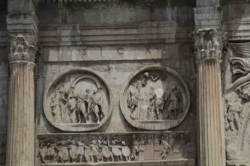 Arch of Constantine Detail 1