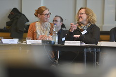 Beatrice Kleinert und Alexadra Kretzschmar vom Bundesrat