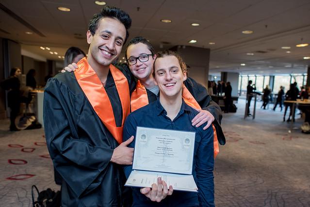 Remise des diplômes MBA ESG 10.02.2018