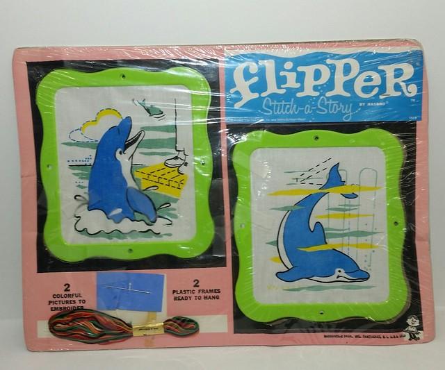 Flipper Stitch-A-Story
