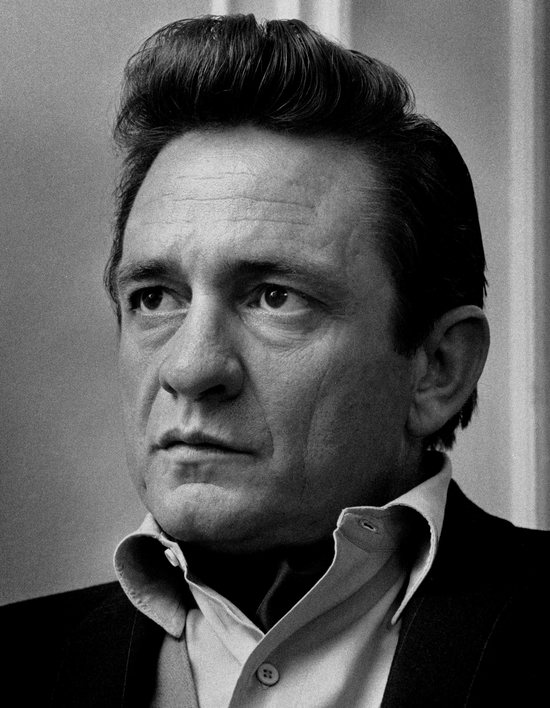 Johnny Cash in 1968.