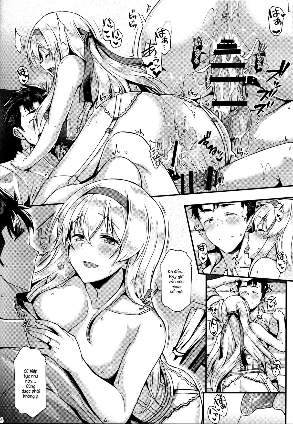 HentaiVN.net - Ảnh 23 - Shoukaku To Motto Motto Ichaicha Shitai!! (Kantai Collection) - Oneshot