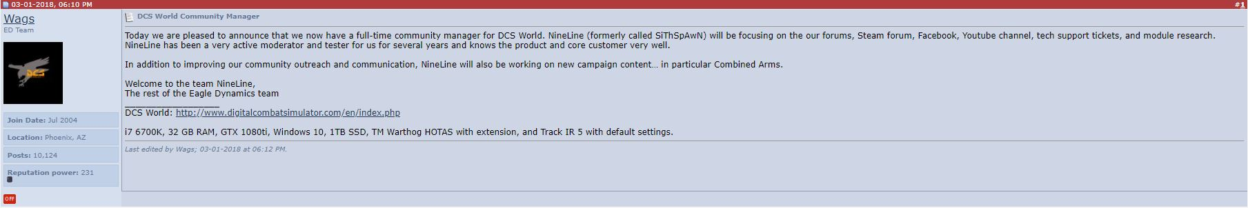 2  5 Release Date ANNOUNCED!! - SimHQ Forums