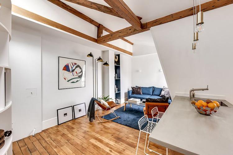 apartamento parisino deco design
