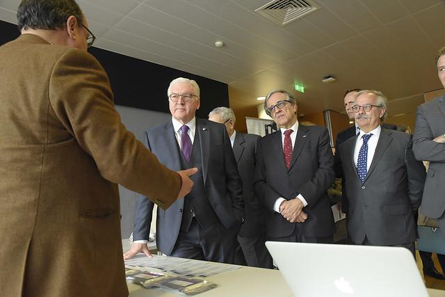 Visita do Presidente da Alemanha ao UPTEC