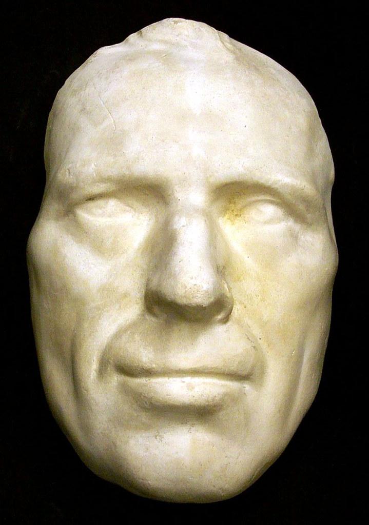 laurence sterne death mask
