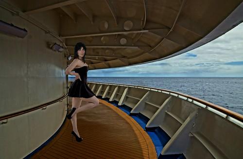 Ice Girl on Deck