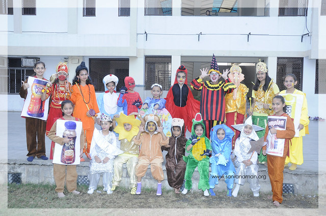 Inter House Fancy Dress Competition (I-V)