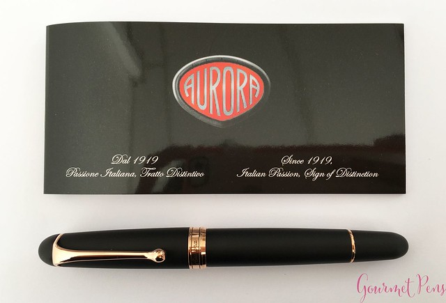 Review Aurora 88 Satin Fountain Pen @iguana_sell @Iguanasell_ES 5