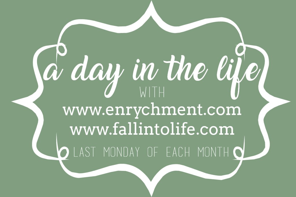 A Day In The Life Link Up with Enrychment & Fall Into Life