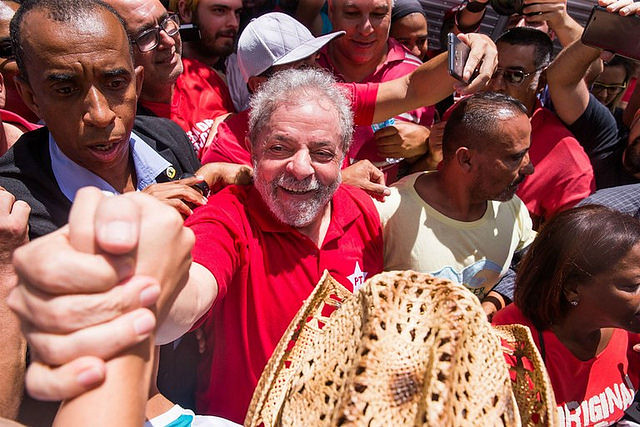 """""""Defender a Lula es defender al pueblo brasileño"""", dice campesino del MST - Créditos: Ricardo Stuckert"""