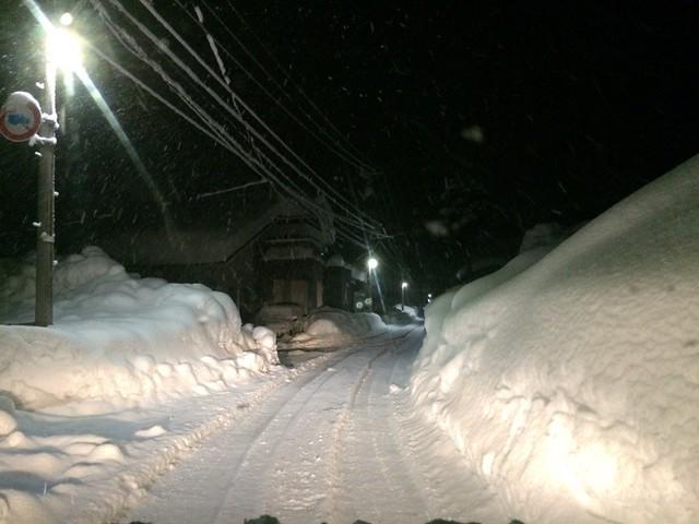 heavy Snowy