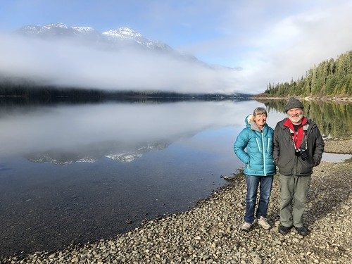 Buttle Lake - Linda and John