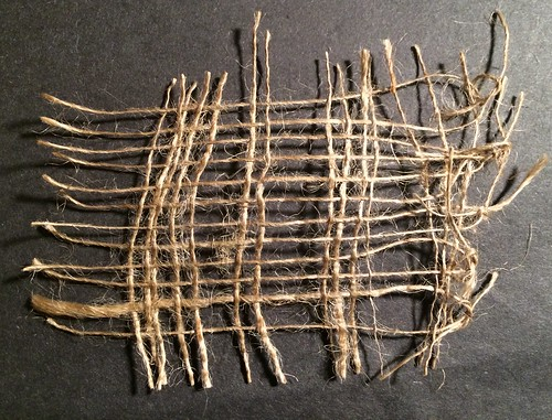 Chapter 5 - Drawn Threads with Hessian