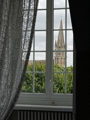 L'église Saint Basile vue depuis la fenêtre