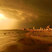 Atardecer y tormenta en Piriápolis, Uruguay by Ju Ele