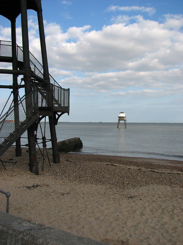 Lighthouses at Dovercourt