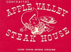 Contratto's Apple Valley Steak House - Long Beach, California