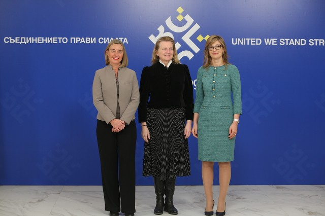 Federica Mogherini participates at the Gymnich Inf…