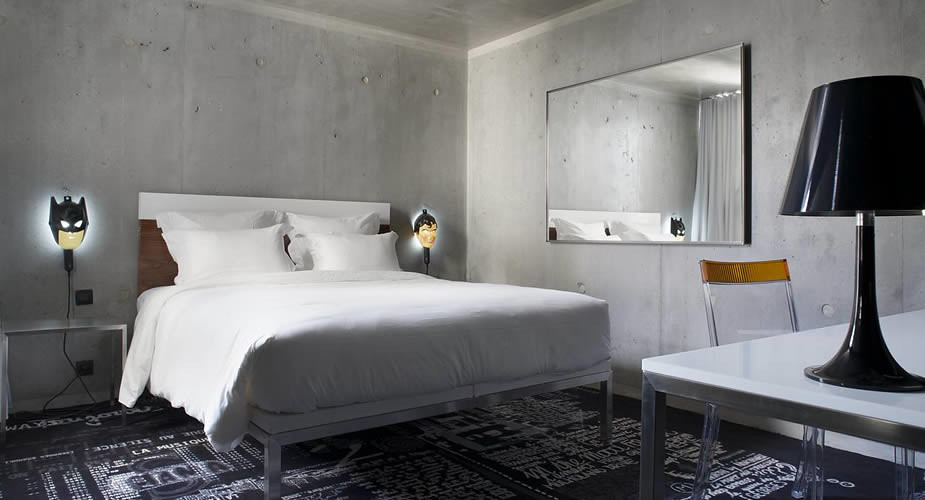 Leuk hotel in Parijs: Mama Shelter, Belleville Parijs | Mooistestedentrips.nl