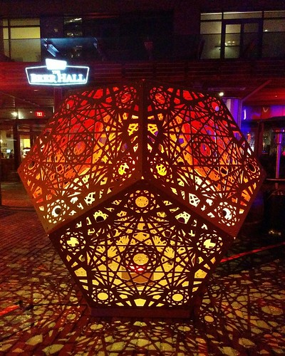 The Glow-Dodecahedron (4) #toronto #distillerydistrict #tolightfest #glowdodecahedron #martintaylor #latergram