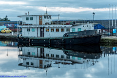 Loch Ness, River Boat on the Caledonian Canal Inverness