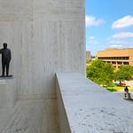 LBJ Presidential Library: Sculpture Garden 1