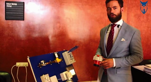 Fernando de Frutos invento de un detector de gas