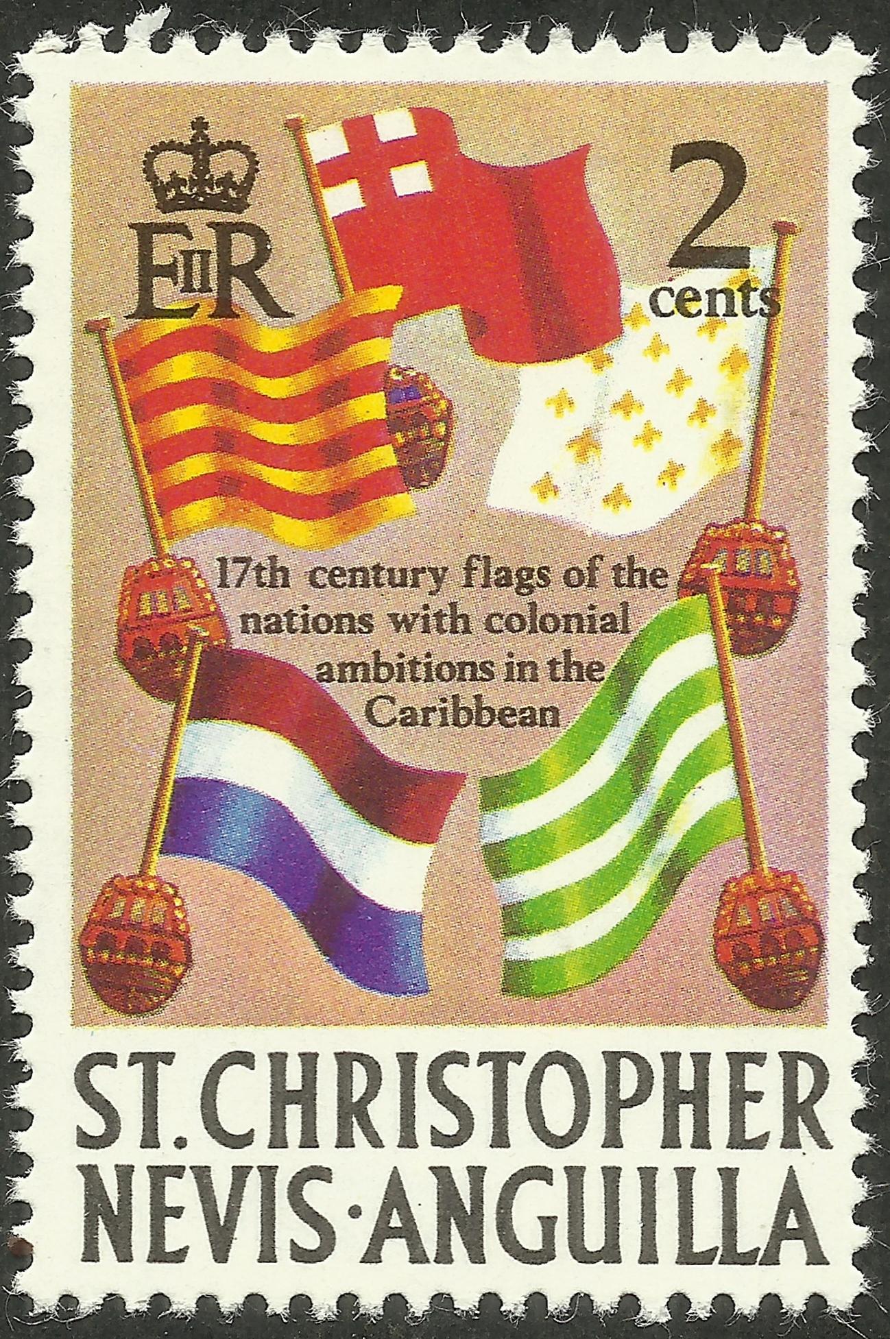 St. Christopher-Nevis-Anguilla - Scott #208 (1970)
