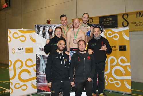 Campeonato de Kick Boxing de Andalucía Club Draco