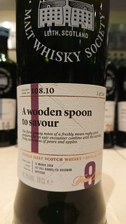 SMWS 108.10 - A wooden spoon to savour