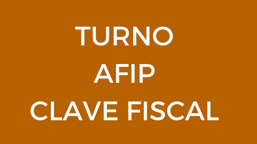 turno para clave fiscal nivel 3