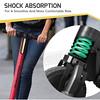 442-SWAB-003 SWAGTRON 美國碳纖維折疊電動滑板車SWAGGER(潮格)-桃紅(7.6KG24V3.8AH限重113KG5實心胎LED頭燈)